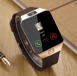 Smartwatch 2017 последние DZ09 Bluetooth Smart Watch поддержка SIM-карты для Apple Samsung IOS Android сотовый телефон 1.56 дюймов бесплатно DHL smartwatches от