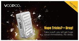 VOOPOO DRAG 157W TC boîte MOD W / O batterie Firmware évolutive MOD 157W VOOPOO DRAG TC boîte alimentée par double batterie 18650 100% Original ? partir de fabricateur