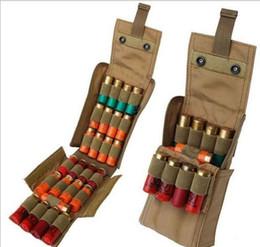 Wholesale molle black vest - Airsoft 25 Round Shell Cartridge Ammo Molle Shell Holder Shotgun Bullet Bag Holder EDC Pouch Molle Vest Hunting Bag Pack