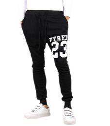 Wholesale Track Pants Wholesale - Wholesale-IMC Baggy tapered bandana pant hip hop dance harem sweatpants drop crotch pants men parkour track trousers light