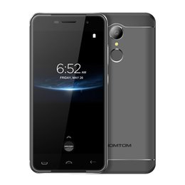Wholesale Pink Touch Mobiles - Original HOMTOM HT37 Pro 4G LTE Mobile Phones Android 7.0 3GB+32GB Quad Core Smartphone 5.0 inch Dual SIM Cell Phone