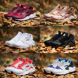 Wholesale Red I - New Air Huarache I Running Shoes For Men Women,Green White Black Rose Gold Sneakers Triple Huaraches 1 Athletic huraches Sport Shoes