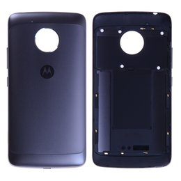 Wholesale Moto Door - For Original Back Cover For Motorola Moto G5 Battery Cover Back Rear Housing Door Digitizer Volume XT1670