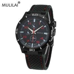Wholesale Car Battery Water - Mulila i new ORIGINAL fashion F1 racing car GT sports watch quartz luxury watch men and silicone belt military watch