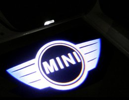 Wholesale Bmw M3 Series - Mini cooper Door Welcome light Decoration For Bmw GT X5 X6 M3 M5 Mini cooper all series