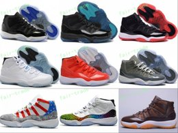 Wholesale Wrestling Shoes 13 - Retro 11 Basketball Shoes Men Women US 5.5-13 Legend Blue Gamma 72-10 Toro Bred Chocolates Space Jam 11s Concords XI Moon Landing