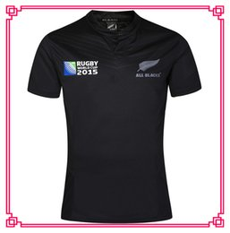 Wholesale Ruby White - nrl jersey 2016 2017 New Zealand Ruby Jerseys New All Blacks RWC Rugby shirt New Zealand 2015 Rugby World Cup