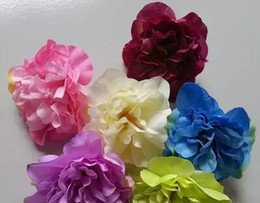 Wholesale Wall Arrangement - Simulation of small peony flowers costumes flower production dance clothing shooting props wedding background wall flower arrangement