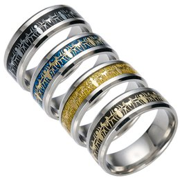 Wholesale Wholesale Spider Rings - Titanium Steel Silver Gold Spiderman Ring Finger Rings Spider man Sign Bands for Women Men Hip Hop Jewely Gift 080183