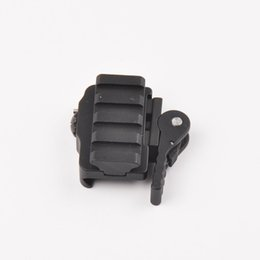 Wholesale Weaver Scope Base Mount - New Tactical Compact Quick Release Scope Mount Adapter 20mm Rail Base Picatinny Weaver