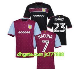 Wholesale Villas Jersey - TopThai quality 2017 2018 Aston Villa soccer jersey 17 18 Aston Villa soccer jersey TERRY home football jerseys shirt