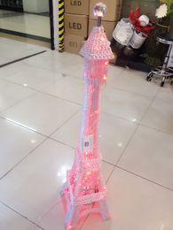 Wholesale Eiffel Towe - Manufacturers selling simple European aluminum The Eiffel Towe lamp warm living room bedroom study