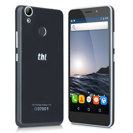 Wholesale Thl Inch - 5.5 inch HD THL T9 Pro 4G LTE fingerprint 2GB 16GB Quad Core Android 6.0 Marshmallow OTG Fast Charge 13.0MP