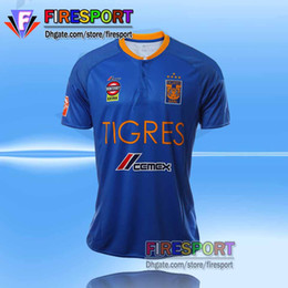 Wholesale Tigres UANL Stars jerseys Mexico club Tigres home Away rd Stars football shirt jersey thai quality