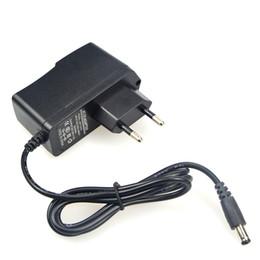 Wholesale Plastic Led Light Strips - 12V 1A 2A plastic led Power Supply AC 100-240V To DC Converter Adapter for Led Light Strip with US EU plug