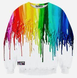 Wholesale Boys Sportwear - Wholesale- 12-18years big kids brand sweatshirt boys youth fashion 3D Graffiti ink printed hoodies jogger sportwear teens unisex