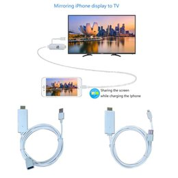 Wholesale Usb Audio Adaptor - Highest quality miracast airplay digital adaptor i8 EZcast anycast wired displayer vidoe audio music mirroring from phones onto big screens