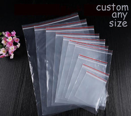 Wholesale Customize Opp Bag - Customized plastic Opp Bags high quality Selfadhesive Packaging transparent packing bag food packing any size free shipping