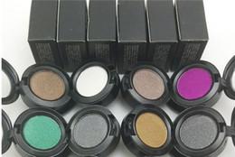 Wholesale Makup Eye Shadow - Wholesale- 24 Color Eye shadow Pigments Palette Eye Makup Eye Shadow Palette in Shimmer Metallic Eyeshadow Palette Hot Sale