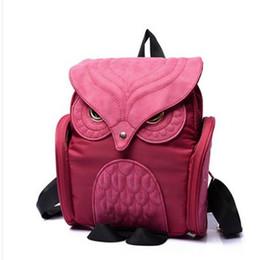 Wholesale Backpack Felt - Newest X Feeling Fashion Backpacks Cute Owl Canvas Backpack Women Cartoon School Bags For Teenagers Girls Nylon Women Nylon Backpack