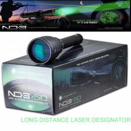 Wholesale Green Designator - Laser Genetics ND3X50 Long Distance Green Laser Designator ND50 w  Adjustable Scope Mount