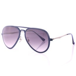 Wholesale Super Sunglasses High Fashion - Highest quality Popular Pilot Sunglasses Fashion 4211 Super light Metal Frame Eyeglasses Coating Reflective Lens Eyewear with original box