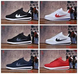 Wholesale Red Net Fabric - Hot new 2016 men and women cortez shoes leisure nets shoes fashion outdoor shoes size 36-44 free shipping