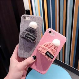 Bonnet de laine coréen pour iPhone7 plus coque de téléphone Apple iPhone6 / 6s peluche protection modèles de marée femelle ? partir de fabricateur