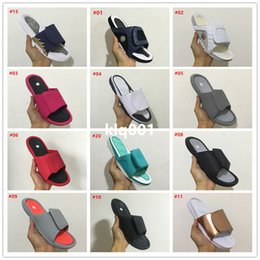 Wholesale Light Blue Moccasin - 2017 New arrive Fashion Retro 6 slippers sandals Hot Sale Summer Hydro VI Airs 4s Sandals Fashion Outdoor Casual Slippers Size 40-46