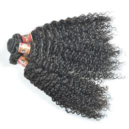 Wholesale Kinky Curl Weaves - Yvonne Brazilian Kinky Curly Weave Tissage Bresilienne Jerry Curl Virgin Hair Brazilian Virgin Hair 3 Bundles Kinky Curly Virgin Hair