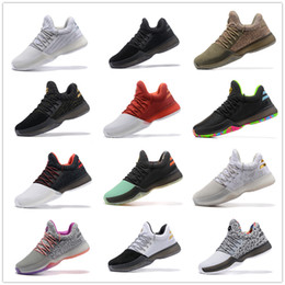Wholesale Mens Ski Boots 12 - Hot Sale 2017 Harden Vol. 1 BHM Black History Month Mens Basketball Shoes Fashion James Harden Shoes Outdoor Sports Training Sneakers US7-12