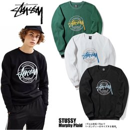 Wholesale Cardigan Sweater Brown - Men warm tops high street fashion lovers wear Embroidery Chest Plus size Velvet hip hop skateboard T-shirt sweater for boys and girls