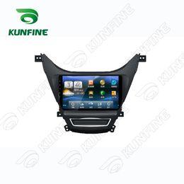 Wholesale Hyundai Gps - Quad Core Android 5.1 1024*600 Car DVD GPS Navigation Player Car Stereo for Hyundai Elantra 2011 2012 2013 Headunit Radio Deckless Bluetooth