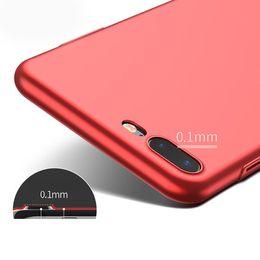 Funda móvil caliente online-Venta caliente material de pc rojo mate protector de todo incluido caja del teléfono móvil caja del teléfono de cáscara dura para iPhone 6 6plus 6s 6splus 7 7plus