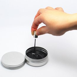 Wholesale Magnetic Rubber - 7 Color New Magnetic Rubber Mud Handgum Hand Gum Magnetic Plasticine Silly Putty Magnet Clay Ferrofluid DIY Creative Toys B