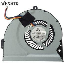 Wholesale Asus X53s - Wholesale- New Original Cooling Fan For ASUS A43 X53S A43S K53S A53S K53SJ X43S X44H K43 X54H X230 Cooler Radiator Cooling Fan