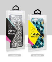 Wholesale Clear Plastic Packing Boxes - Wholesale Custom Logo Transparent PVC Packaging Box For Phone Case for iPhone 7 7 Plus Retail Plastic Crystal Clear Package Packing