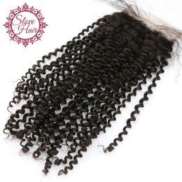 Wholesale Super Cheap Peruvian Hair - 8a Peruvian Virgin Silk Base Closures, Super Quality Cheap Human Hair Peruvain Kinky Curly Silk Base Closure