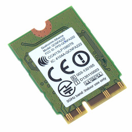 Wholesale Notebook Network Card - Wholesale- Notebook Computer Network Cards QCNFA222 AR5BWB222 2.4Ghz 5Ghz pci-e 802.11abgn WiFi Bluetooth 4.0 Laptop Cards VCM19 T79