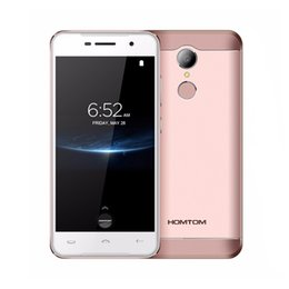 Originali HOMTOM HT37 Pro 4G LTE telefoni cellulari Android 7.0 3GB + 32GB quad core smartphone 8.0MP 720P 5.0 pollici telefono cellulare doppio SIM da
