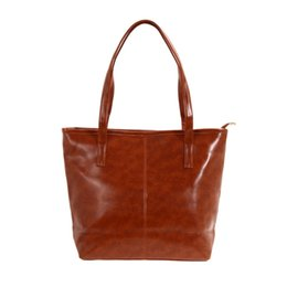 Wholesale Ladies Book Bags - Wholesale-2016 Women Leather Handbags Female Casual Shopping Tote Bag Ladies Clutch Bag Travel Handbag Large Book Bags