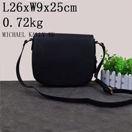 Wholesale Designer Handbag Mk - NEW fashion designer MICHAEL KALLY MK handbag women crossbody saddle bag PU leather summer beach bag lady should tote message bag purse