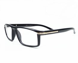 Wholesale Computer Radiation - Italy Brand Fashion Men Women Square Eyeglasses Frames Unisex Myopia Frames Glasses PC Computer Radiation Sunglasses Oculos