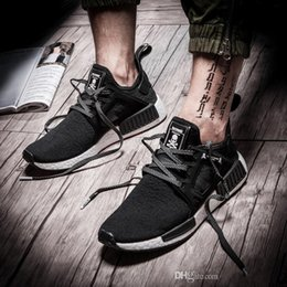 Wholesale Skull Top Womens - 2017 NMD XR1 boost x Mastermind Japan Skull Mens Running Shoes top quality NMD Runner Mesh Primeknit Womens Sneakers sports shoes eur 36-45