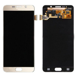 Wholesale Note Screen Parts - New OEM Test LCD Display Touch Screen Digitizer Assembly Parts For Samsung Galaxy Note 5 N920 N920A N920T N920V