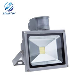Wholesale Flood Sale - Hot sale IP65 Waterproof 10W 20W 30W 50W Led Floodlight Outdoor lighting projecteur LED Flood light 85-265V external sensor