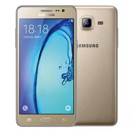 Wholesale Dual Sim Free Smart Phone - Refurbished Original Samsung Galaxy On5 G5500 4G LTE Dual SIM 5.0 inch Quad Core 1.5GB RAM 8GB ROM 8MP Camera Smart Phone Free Post 1pcs