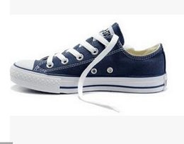 Wholesale Free Dro - Free shipping Brand New Star Unisex 15 Colors All Size 35-45 High Low Top Sports Classic Canvas Shoe Sneakers Men's Women's Casual Shoes Dro