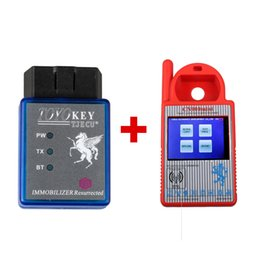 Wholesale Transponder Key Chip 46 - Mini CN900 Transponder Key Programmer Plus TOYO Key OBD II Key Pro for 4C 46 4D 48 G H Chips
