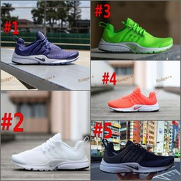 Wholesale Hot Pink Boots For Sale - Air Presto BR QS Breathe Classical Black White Running Shoes for Men,Cheap Original Air Presto Sport Shoe Hot Sale Size Eur 39-45